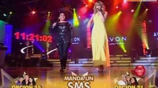 Canto tema elegido: Anna Carina y Gabriela Noriega (Reyes del Show 26-12-09)