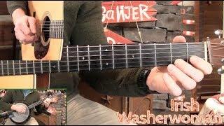 Irish Washerwoman Guitar Solo & Rhythm Lesson!