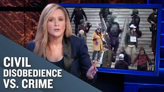 The Treatment of Peaceful Protesters vs. Violent Insurrectionists | Full Frontal on TBS