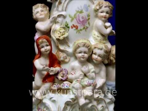 Ausgefallene & exklusive Vasen Schalen Zierdosen, antike Sammelobjekte, Antiquitäten.wmv