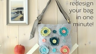 Change your bag's style in one minute!