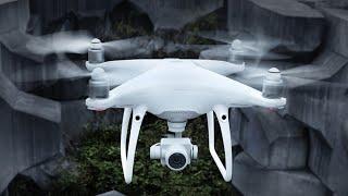 DJI Phantom 4 Drone 2020 AK photography new short video