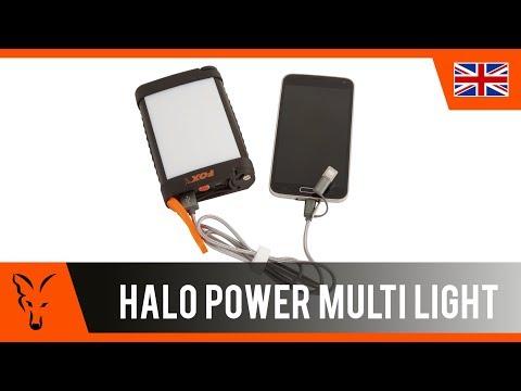 Fox Halo Power Multi Light lámpa videó