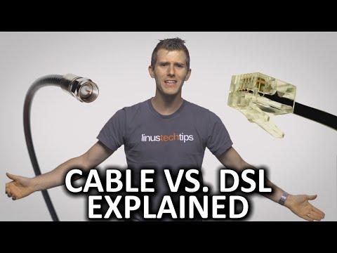 Cable Internet vs. DSL Internet