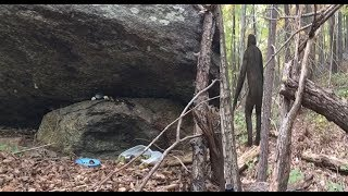 He Discovers The Lair Of Bigfoot And Is Told LOUD AND CLEAR He Is NOT Welcome