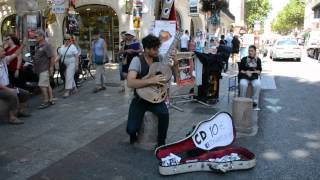 preview picture of video 'Guitar by TOM WARD in Avignon ®'