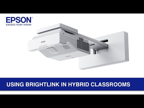 Using BrightLink in Hybrid Classrooms