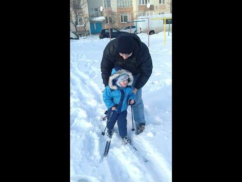 Дитячі бігові лижі! Монтаж кріплень nordik 75 під червички Alpina 27 розмір