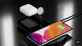 PhoneMust Foldable 15W 3 in 1 Wireless Charger Pad PM-H15 youtube video