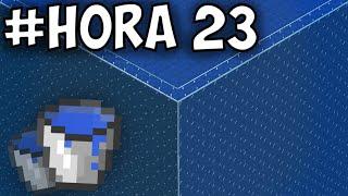 Hice un CUBO GIGANTE de AGUA en Minecraft Survival...