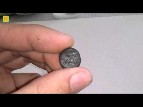 Чистка монет вода + игла глядичии кладоискатель