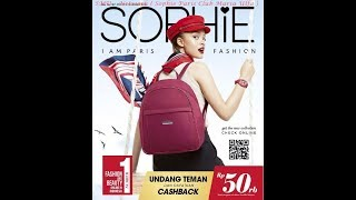 NEW KATALOG SOPHIE PARIS NOVEMBER 2018 EDISI 180 order by wa 081314165023