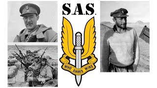 The early days of the S.A.S.