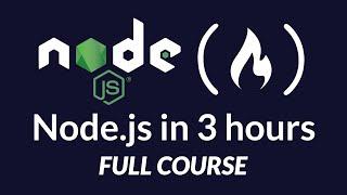 Learn Node.js - Full Tutorial for Beginners