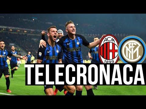 Il Derby di Milano commentato da Repice, Tramontana, Suma ecc... | Milan 2-3 Inter