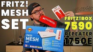 AVM FRITZ MESH SET - Internet überall ! Review, Installation, Eindruck | CH3 Test Deutsch
