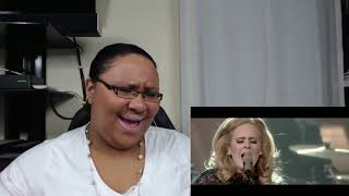 Adele fire in the rain at Royal Albert Hall Reaction