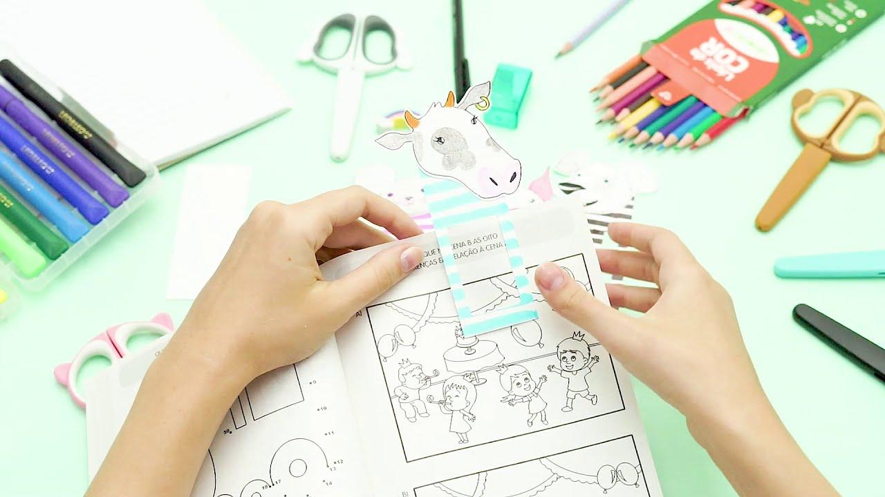 #DIY Marca Página de papel