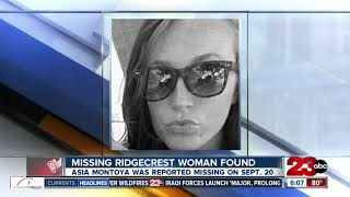 Missing Ridgecrest woman found