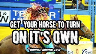 Barrel Racing Tips! Get Your Horse To Rate On Their Own For Tighter Turns BARRELRACINGCOLLEGE.com