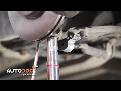 Cambio gommini barra stabilizzatrice anteriore FIAT PUNTO TUTORIAL | AUTODOC