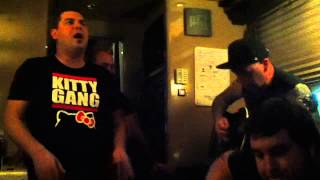 Alien Ant Farm - Flesh and Bone (live on their tour bus)