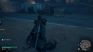 Days Gone  Hard Mode Horde Boss