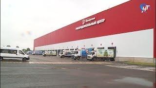 В деревне Чечулино открылся распределительный центр одной из крупнейших торговых сетей