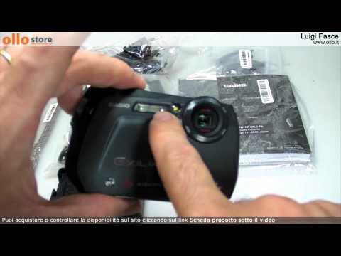 Casio Exilim G1 fotocamera subacquea
