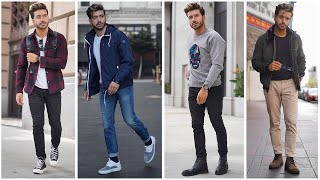 5 Easy Men's Outfits For Fall | Fashion Inspiration Lookbook 2019 | Alex Costa