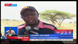 Maasai leaders blast Governor Ali Hasan Joho over his utterances about President Uhuru