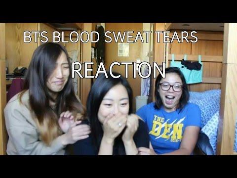 BTS BLOOD SWEAT TEARS MV REACTION || UCLA STUDENTS REACT TO KPOP 방탄소년단 피 땀 눈물
