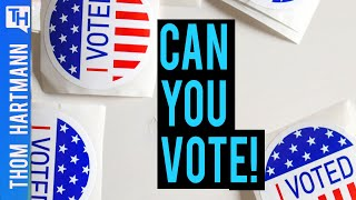 GOP is Erasing Your Voter Registration - Right Now! (w/ Jedd Legum)
