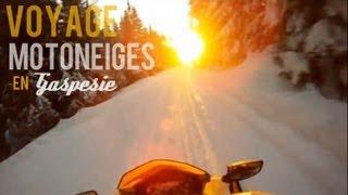 Voyage de Motoneiges en Gaspésie