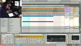 Ableton Live 9 - Easy Snare Roll Effects & Builds