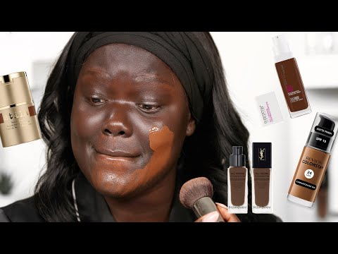 Mixing Together 15 FOUNDATIONS with the name ESPRESSO! |Nyma Tang