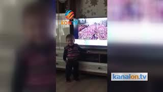 Tayyip Dede! İşte minik çocuğun Erdoğan aşkı!