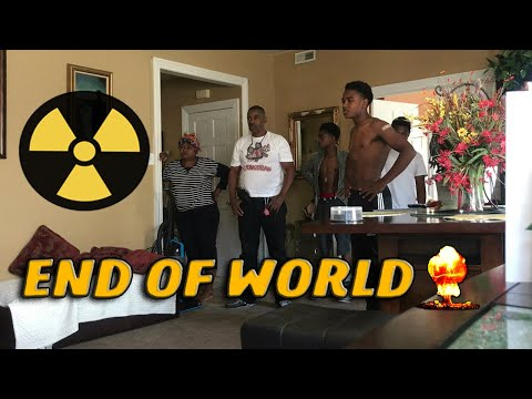 FUNNY END OF THE WORLD PRANK ON PARENTS!!!😂 ft. Nizzy FromDa215 & Coolin With Jare