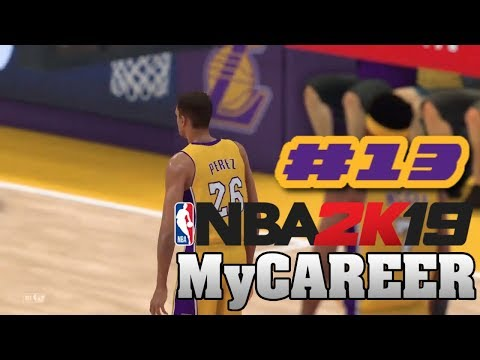 NBA 2K19 My Career Offline Mode PS4 Ep.13 (GETTING A DOUBLE-DOUBLE)