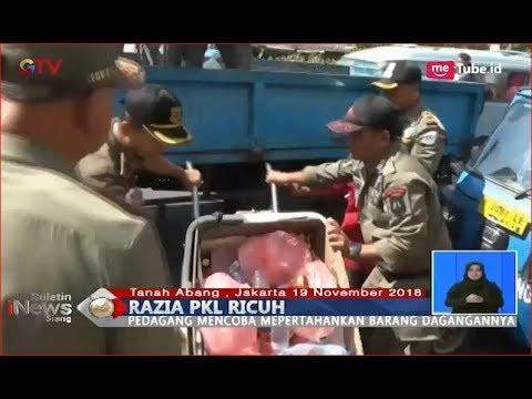 1 Lawan 5 Orang, PKL Tanah Abang Kalah Pertahankan Barang Dagangan - BIS HD 19/11