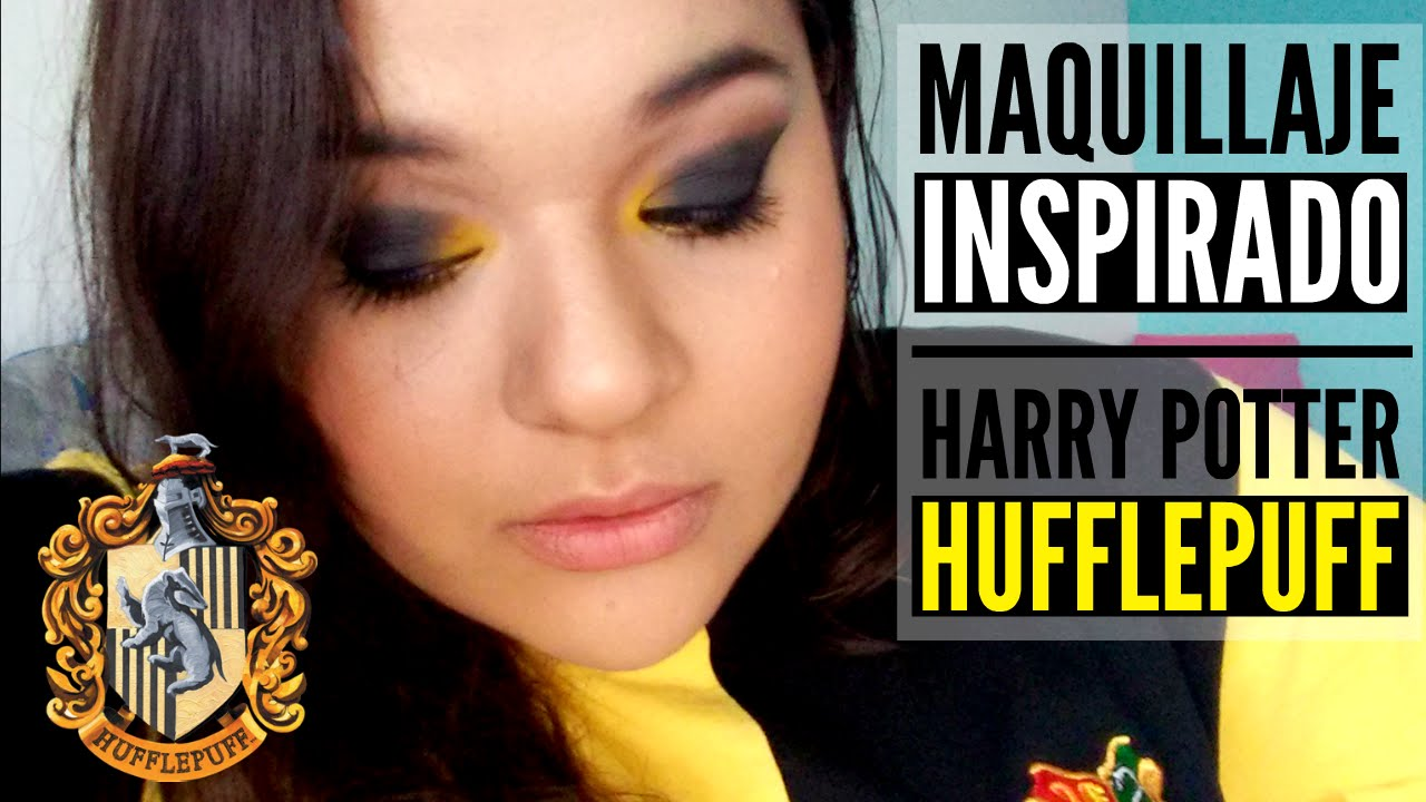 Maquillaje Inspirado - Harry Potter - Hufflepuff