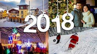 Рождественские праздники в Канаде. С Новым Годом 2018!