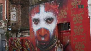 Brick Lane con Magda