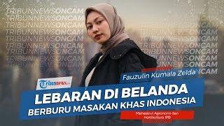 Lebaran di Belanda, Mahasiswi Berburu Masakan Khas Indonesia
