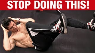 Stop Doing Abs Like This! (SAVE A FRIEND)