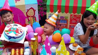 Trò Chơi Tổ Chức Sinh Nhật Bé Kiệt ❤ ChiChi ToysReview TV ❤ Đồ Chơi Trẻ Em Bài Hát Happy Birthday