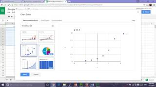Graphing Exponential Google Sheets