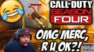 OH MY GOD MERC, R U OK?! 😂 CR-56 AMAX & FENNEC Gameplay | Modern Warfare Season 4