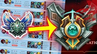 DIAMOND TO MASTER IN 10 MINUTES [LOL]