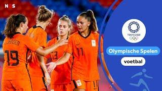 Het regent weer doelpunten bij Oranjevrouwen   samenvatting Nederland - China   #Tokyo2020